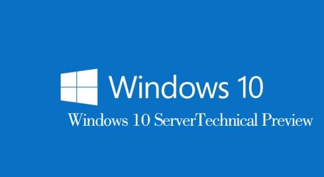 Windows-10-ServerTechnical-Preview