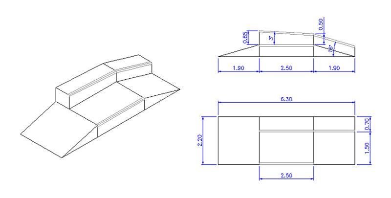 Rampa de skate Urbanismo - Mobiliário urbano Pinterest - construction change order form
