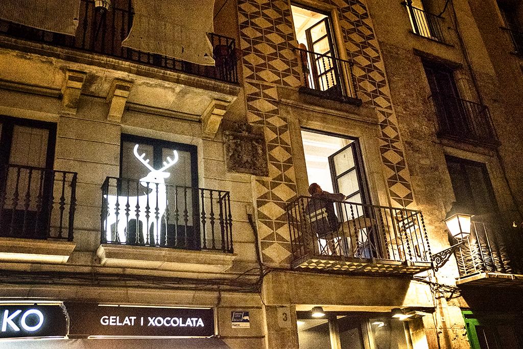Lost reindeer Barcelona