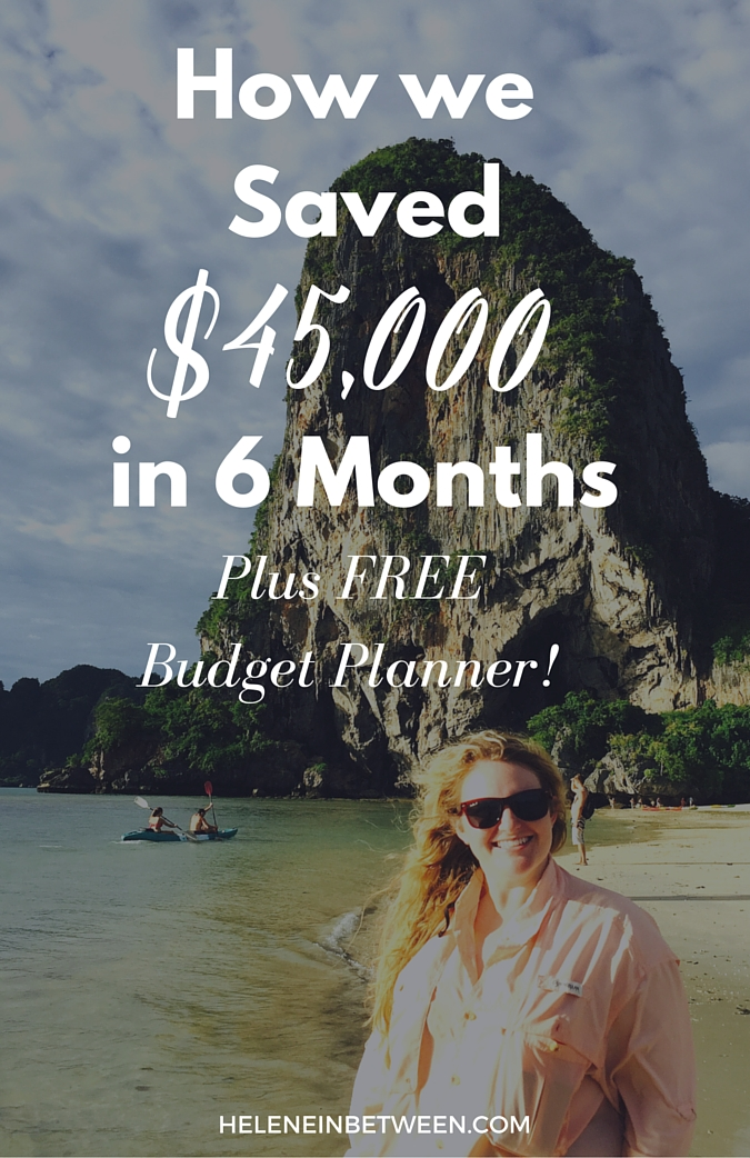 How We Saved $45,000 in Six Months (Plus FREE Budget Planner - freebudget