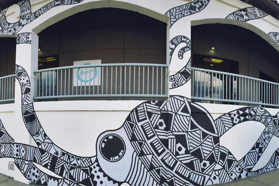 Little Octopus Nashville Mural