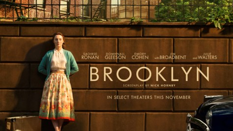 """Brooklyn"" movie poster."
