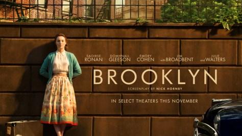 """Brooklyn"" movie poster."