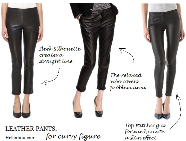 Leather Pants For Different Body Types (Wardrobe Essential ...