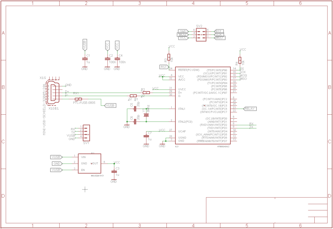usb keyboard circuit