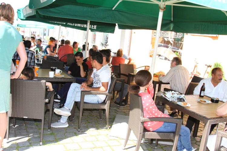 Erstes Café-International gut besucht