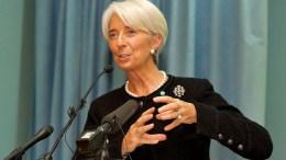 Η κ. Κριστίν Λαγκάρντ. Photo IMF