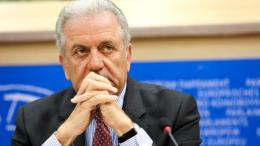 European Commissioner for Migration, Home Affairs and Citizenship Dimitris Avramopoulos. Photo EPA