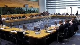 Συνεδρίαση του Eurogroup στις Βρυξέλλες. ΑΠΕ-ΜΠΕ, European Union, Christos DOGAS