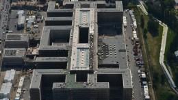 Το κτίριο των μυστικών υπηρεσιών της Γερμανίας (BND). Φωτογραφία Oliver Lang/dapd