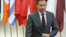 President of Eurogroup and Dutch Finance Minister Jeroen Dijsselbloem. EPA/JULIEN WARNAND