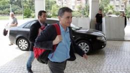 Ο υπουργός Οικονομικών Ευκλείδης Τσακαλώτος. ΑΠΕ-ΜΠΕ, Αλέξανδρος Μπελτές