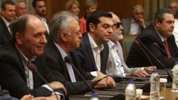 Στιγμιότυπο από κυβερνητική  συνεδρίαση υπό τον πρωθυπουργό. Φωτογραφία αρχείου ΑΠΕ-ΜΠΕ