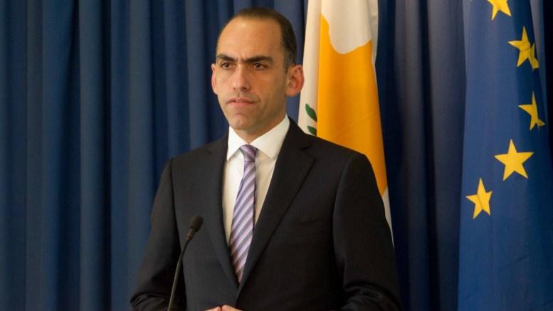 Ο Υπουργός Οικονομικών  της Κύπρου κ. Χάρης Γεωργιάδης. Φωτογραφία Στ. ΙΩΑΝΝΙΔΗΣ