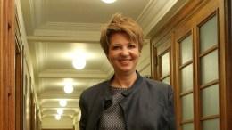 Η υπουργός Διοικητικής Ανασυγκρότησης, Όλγα Γεροβασίλη. ΑΠΕ-ΜΠΕ, Παντελής Σαίτας