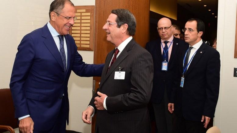 Για το Κυπριακό συνομίλησαν τηλεφωνικά οι κ. Νίκος Αναστασιάδης και Σεργκέι Λαβρόφ. ΦΩΤΟΓΡΑΦΙΑ ΑΡΧΕΙΟΥ, ΔΗΜΗΤΡΗΣ ΠΑΝΑΓΟΣ, ΚΥΠΕ