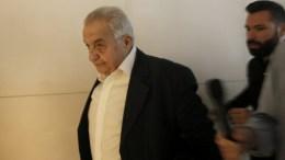 Για τρομοκρατική εναντίον του επίθεση μίλησε ο υπουργός Επικρατείας Αλέκος Φλαμπουράρης. ΑΠΕ-ΜΠΕ/ΑΠΕ-ΜΠΕ/ΓΙΑΝΝΗΣ ΚΟΛΕΣΙΔΗΣ