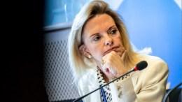Η ευρωβουλευτής Ελίζα Βόζεμπεργκ. Φωτογραφία ΑΠΕ-ΜΠΕ