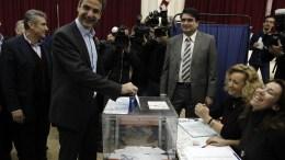 Ο νέος πρόεδρος της Ν.Δ., Κυριάκος Μητσοτάκης. ΑΠΕ-ΜΠΕ, ΑΛΕΞΑΝΔΡΟΣ ΒΛΑΧΟΣ