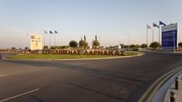 """Το αεροδρόμιο Λάρνακας μετονομάστηκε σε """"Γλαύκος Κληρίδης"""". Φωτογραφία Φιλελεύθερος"""