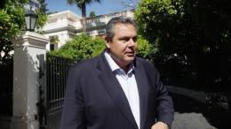 Ο υπουργός Άμυνας Πάνος Καμμένος. Φωτογραφία ΑΠΕ-ΜΠΕ