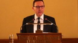 Ο διοικητής της Τράπεζας της Ελλάδας Γιάννης Στουρνάρας. ΑΠΕ-ΜΠΕ, ΟΡΕΣΤΗΣ ΠΑΝΑΓΙΩΤΟΥ