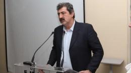 Ο αναπληρωτής υπουργός Υγείας, Παύλος Πολάκης. ΑΠΕ-ΜΠΕ/ ΓΡΑΦΕΙΟ ΤΥΠΟΥ ΥΠΟΥΡΓΕΙΟΥ ΠΡΟΣΤΑΣΙΑΣ ΤΟΥ ΠΟΛΙΤΗ/ STR