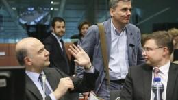 FILE PHOTO.   Στις πιέσεις που ασκούνται στην Ελλάδα ενόψει της σημερινής συνεδρίασης του Eurogroup αναφέρονται αυστριακά ΜΜΕ. EPA, OLIVIER HOSLET