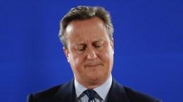 Britain's former Prime Minister David Cameron. EPA, JULIEN WARNAND