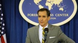 US State Department spokesman John Kirby. EPA, YONHAP SOUTH KOREA OUT