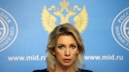 Russian Foreign Ministry spokesperson Maria Zakharova. EPA, MAXIM SHIPENKOV