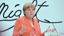 German Chancellor Angela Merkel. EPA, MAURIZIO GAMBARINI