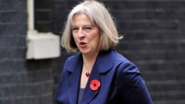 British PM Theresa May. EPAANDY RAIN