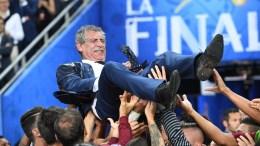 Ο προπονητής της Εθνικής Πορτογαλίας, Σάντος. Φωτογραφία EPA, ΑΠΕ-ΜΠΕ