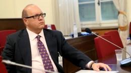 File Photo: Ο Παναγιώτης Ψυχάρης καταθέτει στην Εξεταστική Επιτροπή της Βουλής για τα δάνεια σε κόμματα και ΜΜΕ, Τετάρτη 31 Αυγούστου 2016. ΑΠΕ-ΜΠΕ, Παντελής Σαίτας