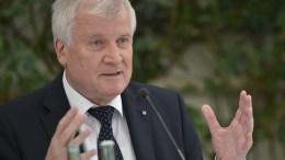 Bavarian State Premier Horst Seehofer. EPA/ANGELIKA WARMUTH