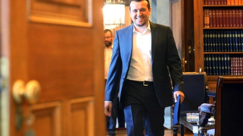Ο υπουργός Επικρατείας Νικόλαος Παππάς. ΑΠΕ-ΜΠΕ, ΑΛΕΞΑΝΔΡΟΣ ΒΛΑΧΟΣ