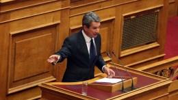 Ο βουλευτής της Δημοκρατικής Συμπαράταξης Ανδρέας Λοβέρδος. ΑΠΕ-ΜΠΕ, Αλέξανδρος Μπελτές