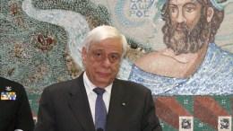 Ο Πρόεδρος της Δημοκρατίας Προκόπης Παυλόπουλος (Α) μιλάει στην τελετή ανακήρυξής του σε Επίτιμο Δημότη του Δήμου Δέλτα, Σάββατο 22 Οκτωβρίου 2016. Ο Πρόεδρος της Δημοκρατίας Προκόπης Παυλόπουλος παρέστη στις εκδηλώσεις για τον εορτασμό των Ελευθερίων της Χαλάστρας. ΑΠΕ ΜΠΕ, PIXEL, ΣΩΤΗΡΗΣ ΜΠΑΡΜΠΑΡΟΥΣΗΣ