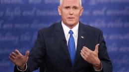 Ο αντιπρόεδρος των ΗΠΑ, Μάικ Πενς. EPA, MICHAEL REYNOLDS