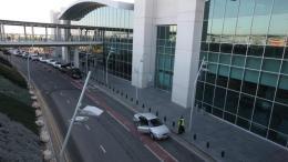 Tο αεροδρόμιο Λάρνακας. Φωτογραφία ΚΥΠΕ.