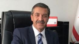 "O παράνομος ψευδο-""υπουργός Εξωτερικών"" Ερτουγρούλογλου.  Φωτογραφία ΚΥΠΕ"
