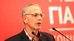 Ο Παναγιώτης Ρήγας, γραμματέας της Κεντρικής Επιτροπής ΣΥΡΙΖΑ. ΑΠΕ-ΜΠΕ, Αλέξανδρος Μπελτές