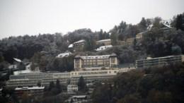 Το ξενοδοχείο Λε Μιραντόρ στο Μοντ Πελεράν της Ελβετίας όπου συνεχίζουν οι συνομιλίες για το Κυπριακό, Παρασκεύη 11 Νοεμβρίου 2016. ΚΥΠΕ, ΚΑΤΙΑ ΧΡΙΣΤΟΔΟΥΛΟΥ