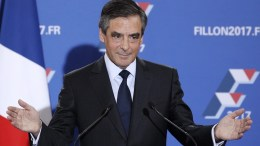 Former French Prime Minister and candidate of  the  presidential elections, Francois Fillon. EPA, YOAN VALAT