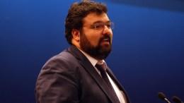 Ο νέος υφυπουργός Αθλητισμού και πρώην γενικός γραμματέας για την Καταπολέμηση της Διαφθοράς Γιώργος Βασιλειάδης. ΑΠΕ-ΜΠΕ, Αλέξανδρος Μπελτές