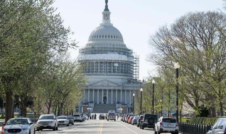 Ανεστάλη η λειτουργία της ομοσπονδιακής κυβέρνησης.  Φωτογραφία Αρχείου, ΚΥΠΕ.