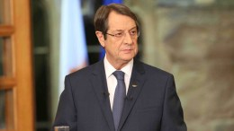 A handout picture released by the Cypriot government's Press and Information Office (PIO) shows Cypriot President Nicos Anastasiades.  EPA, CYPRIOT PRESS OFFICE