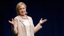 Η Χίλαρι Κλίντον. EPA, ASHLEY LANDIS CORBIS OUT