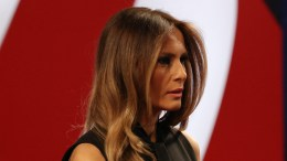 Melania Trump prior to the start of the final Presidential Debate at the University of Nevada-Las Vegas in Las Vegas, Nevada, USA, 19 October 2016. The debate is the final of three Presidential Debates and one Vice Presidential Debate before the US National Election on 08 November 2016.  EPA/GARY HE